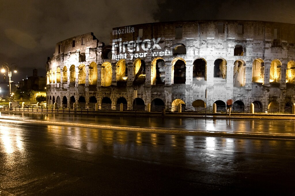 Firefox on Colosseo