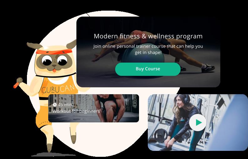 White label fitness app