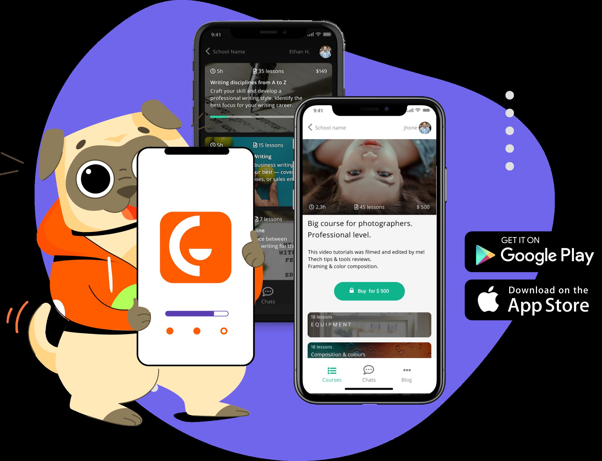 Gurucan mobile app