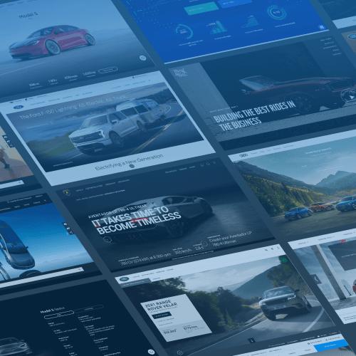 Automotive website development trends in 2022