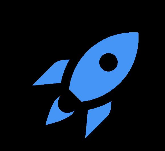 Play4Tomorrow Logo (Rocketship)