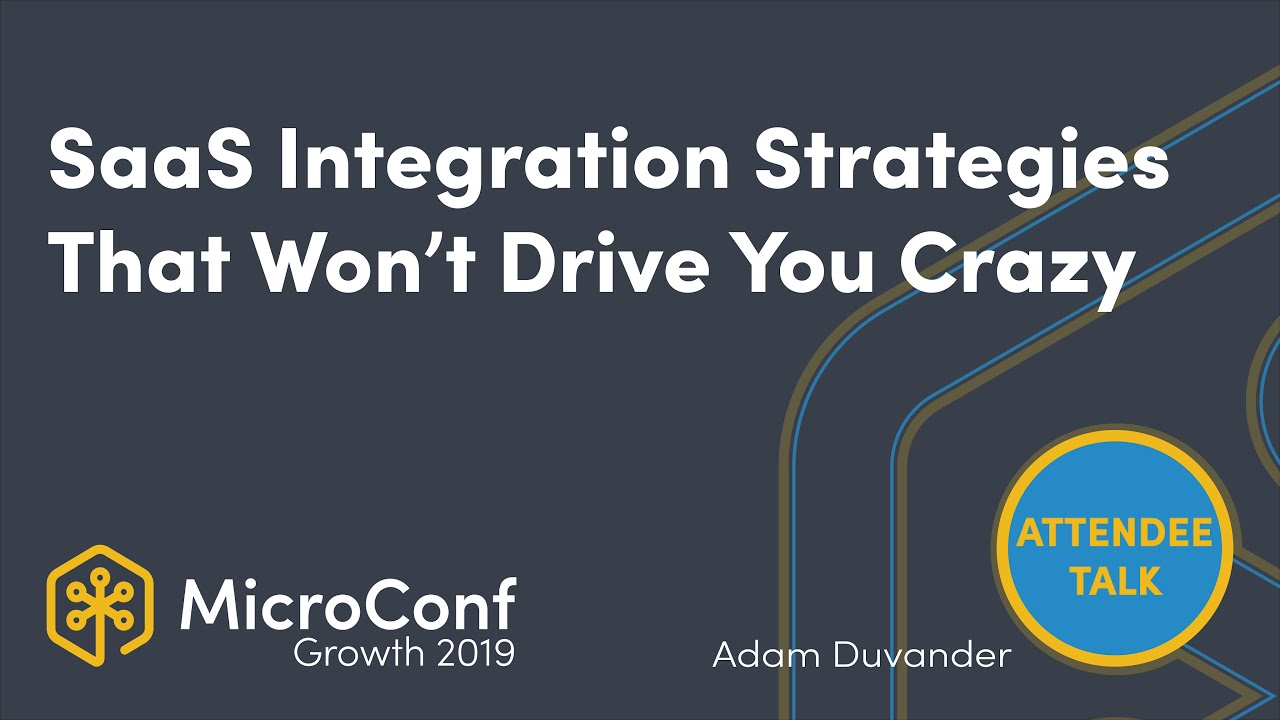SaaS Integration Strategies That Won't Drive You Crazy