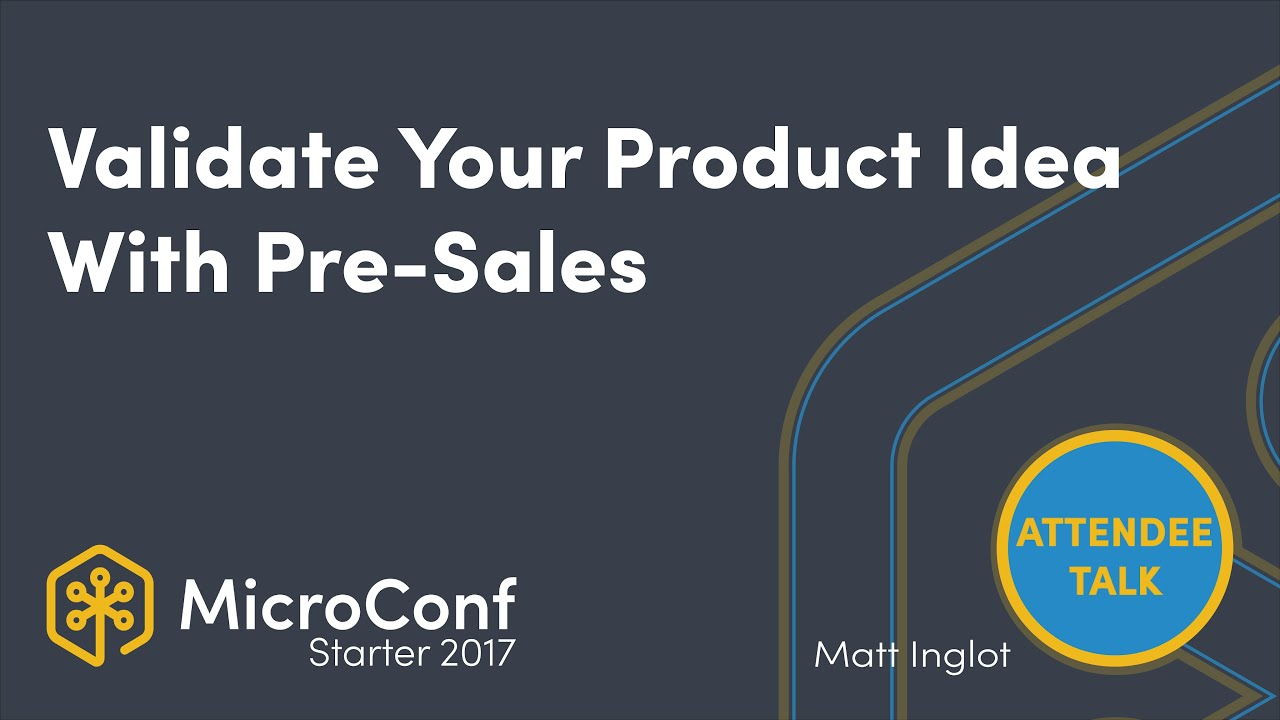 Validate Your Product Idea With Pre Sales