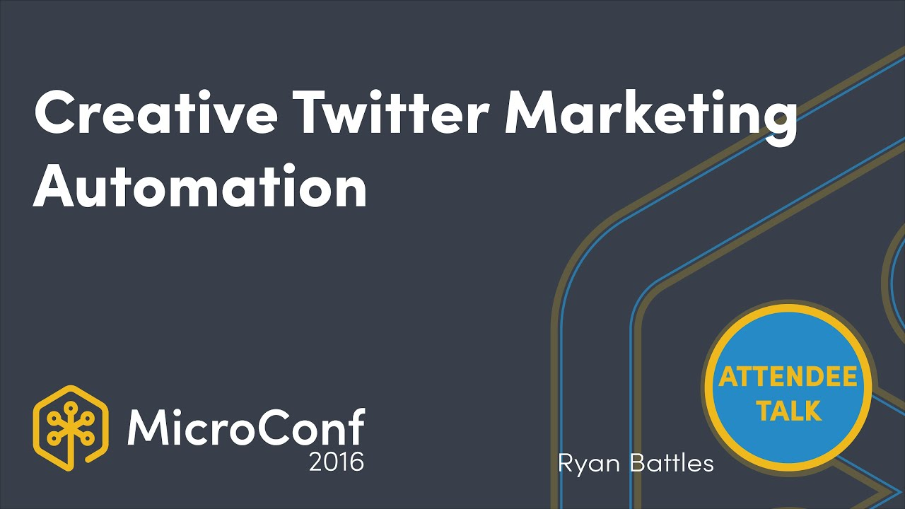 Creative Twitter Marketing Automation in 15 min per week