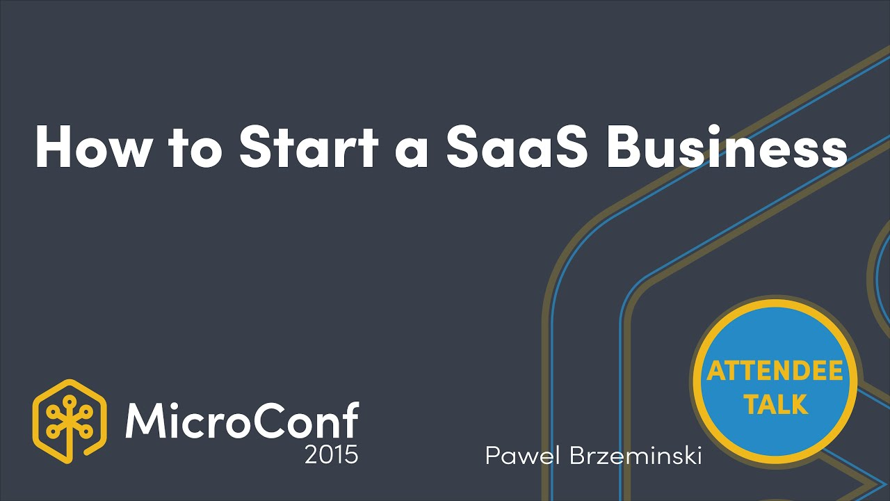 How to start a SaaS business with no idea