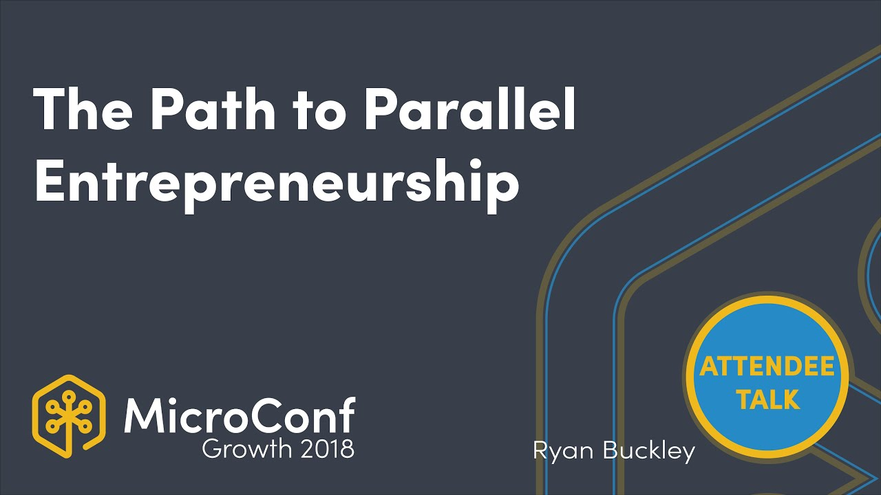 The Path to Parallel Entrepreneurship