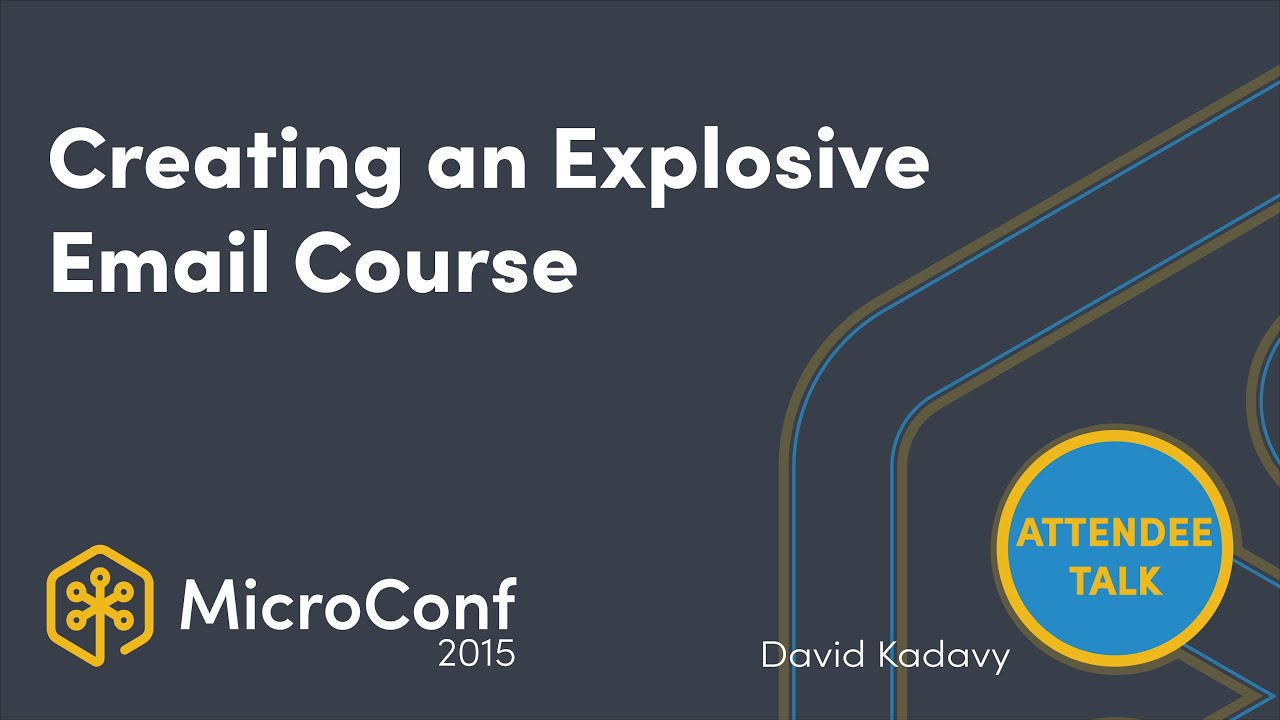 Creating an Explosive Email Course
