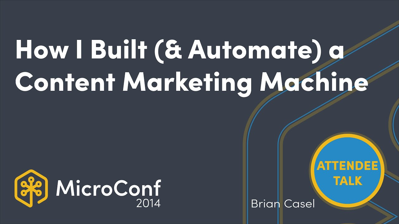 How I Built & Automated a Content Marketing Machine For My SaaS