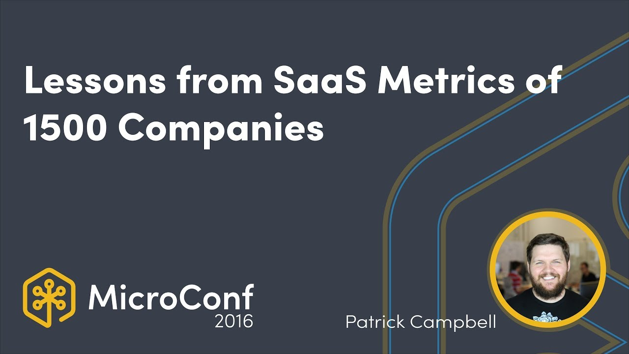 Lessons from the SaaS Metrics of 1500 Companies