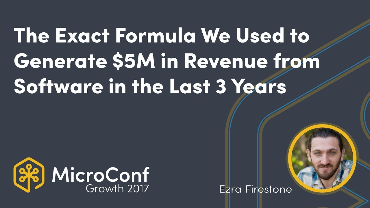 The Exact Formula We've Used to Generate $5M in Revenue in the Last 3 Years