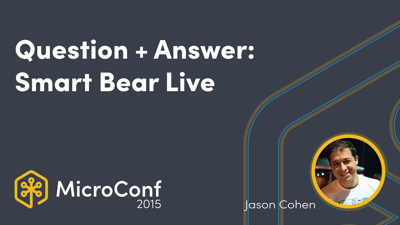 Question + Answer: Jason Cohen, A Smart Bear