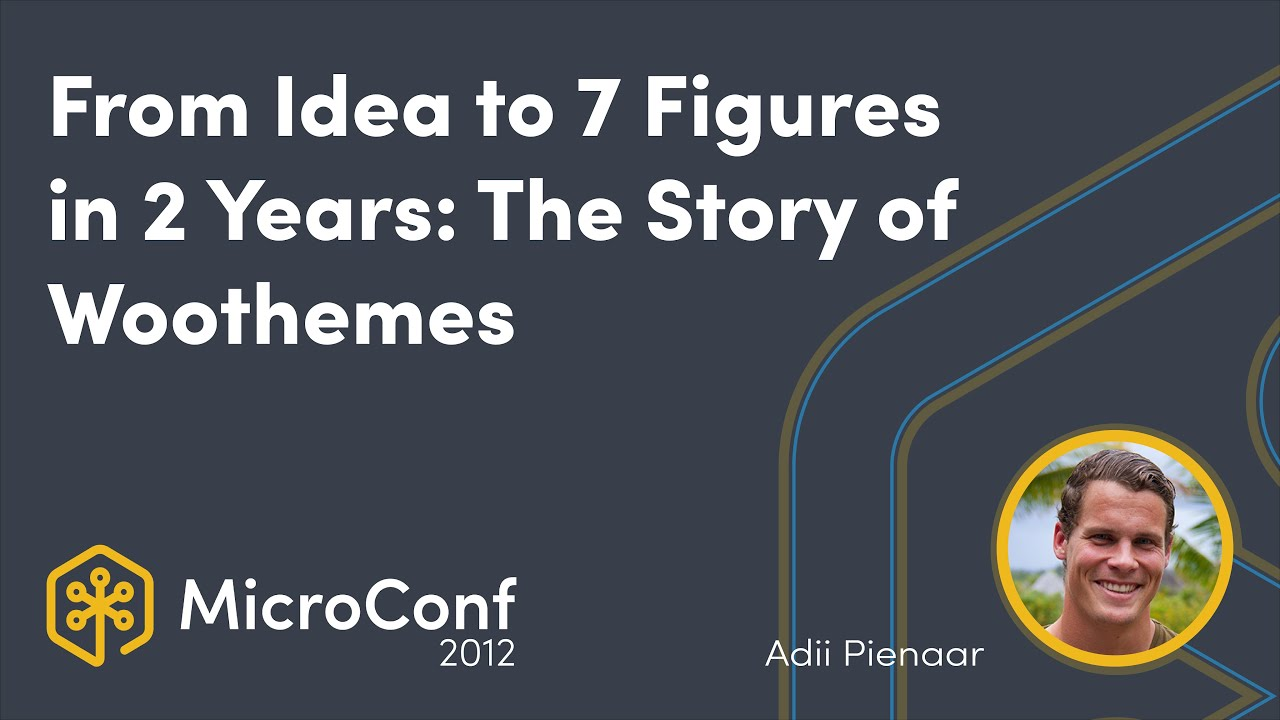 From Idea to 7 Figures in 2 years: The Story of Woothemes