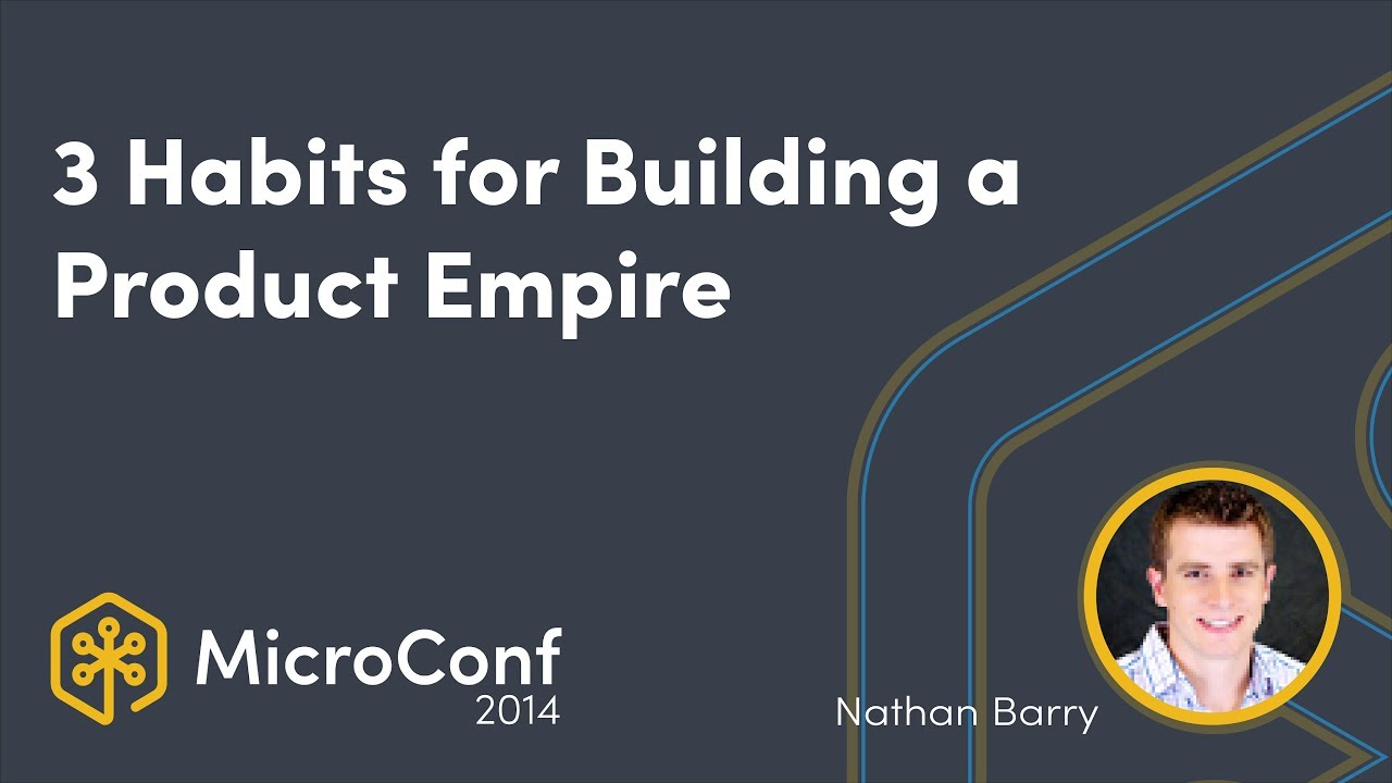 3 Habits for Building & Growing a Product Empire