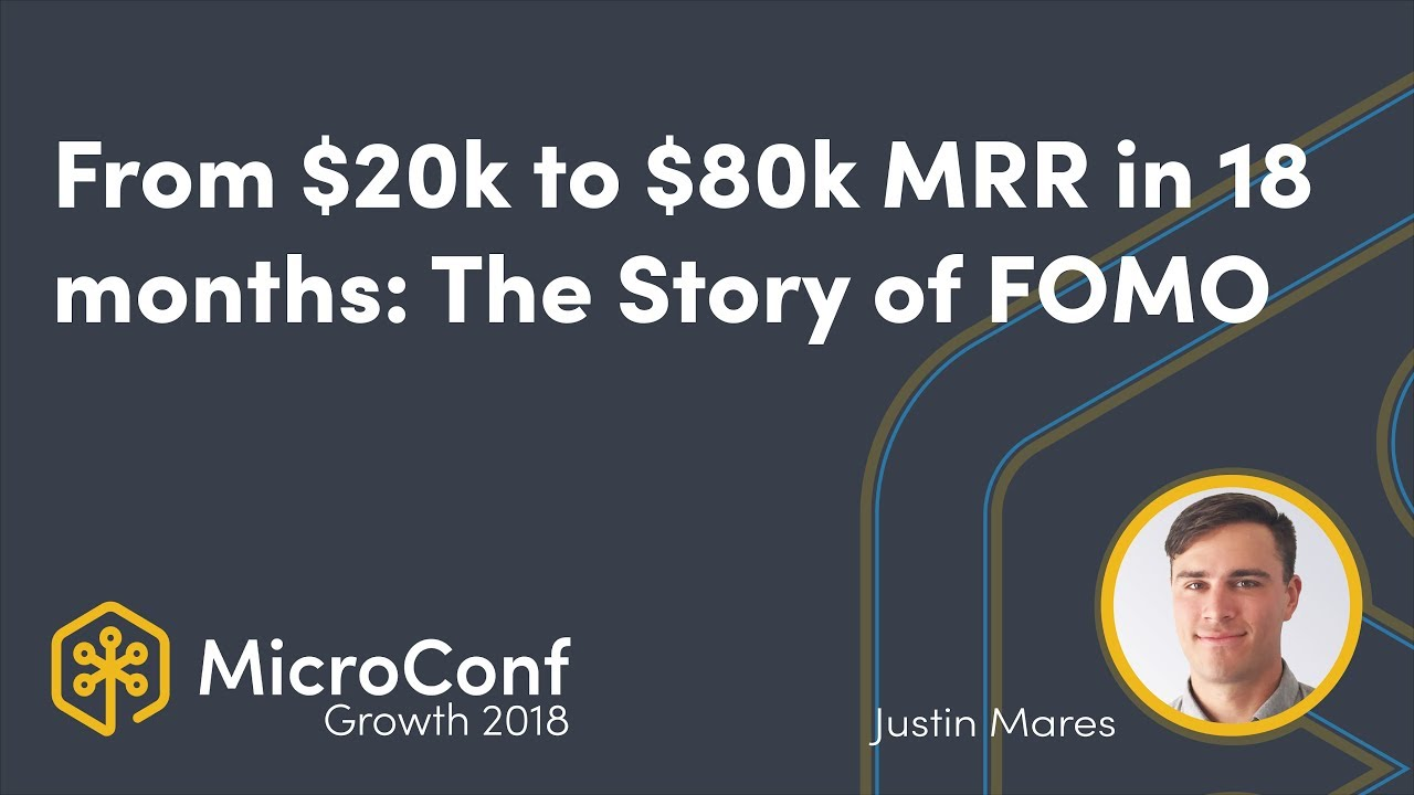 From $20k to $80k MRR in 18 Months: The Story of FOMO