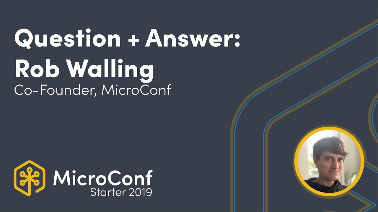 Question & Answer: Rob Walling, Co-Founder, Drip, MicroConf
