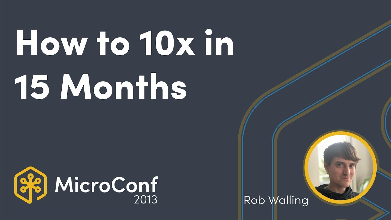 How to 10x in 15 Months