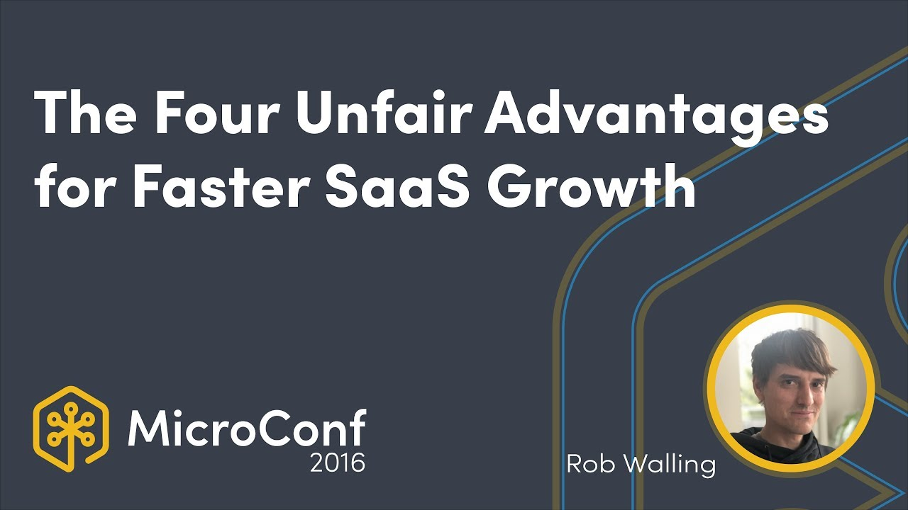 The Four Unfair Advantages for Faster SaaS Growth
