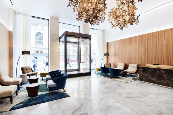 park terrace hotel lounge area