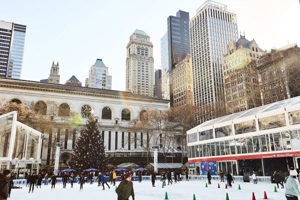 ice skating in new york