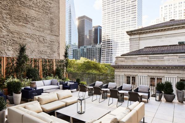 rooftop at park terrace