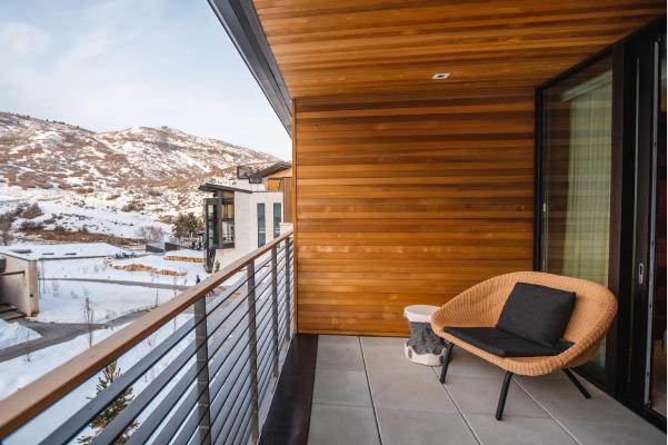 sky suite of blue sky lodge