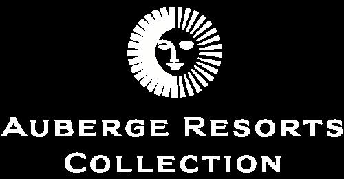 auberge resort logo white