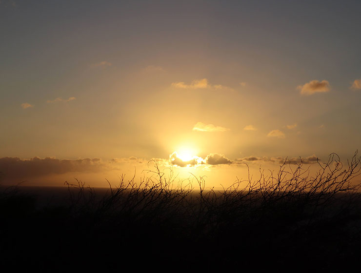 A gentle sunrise