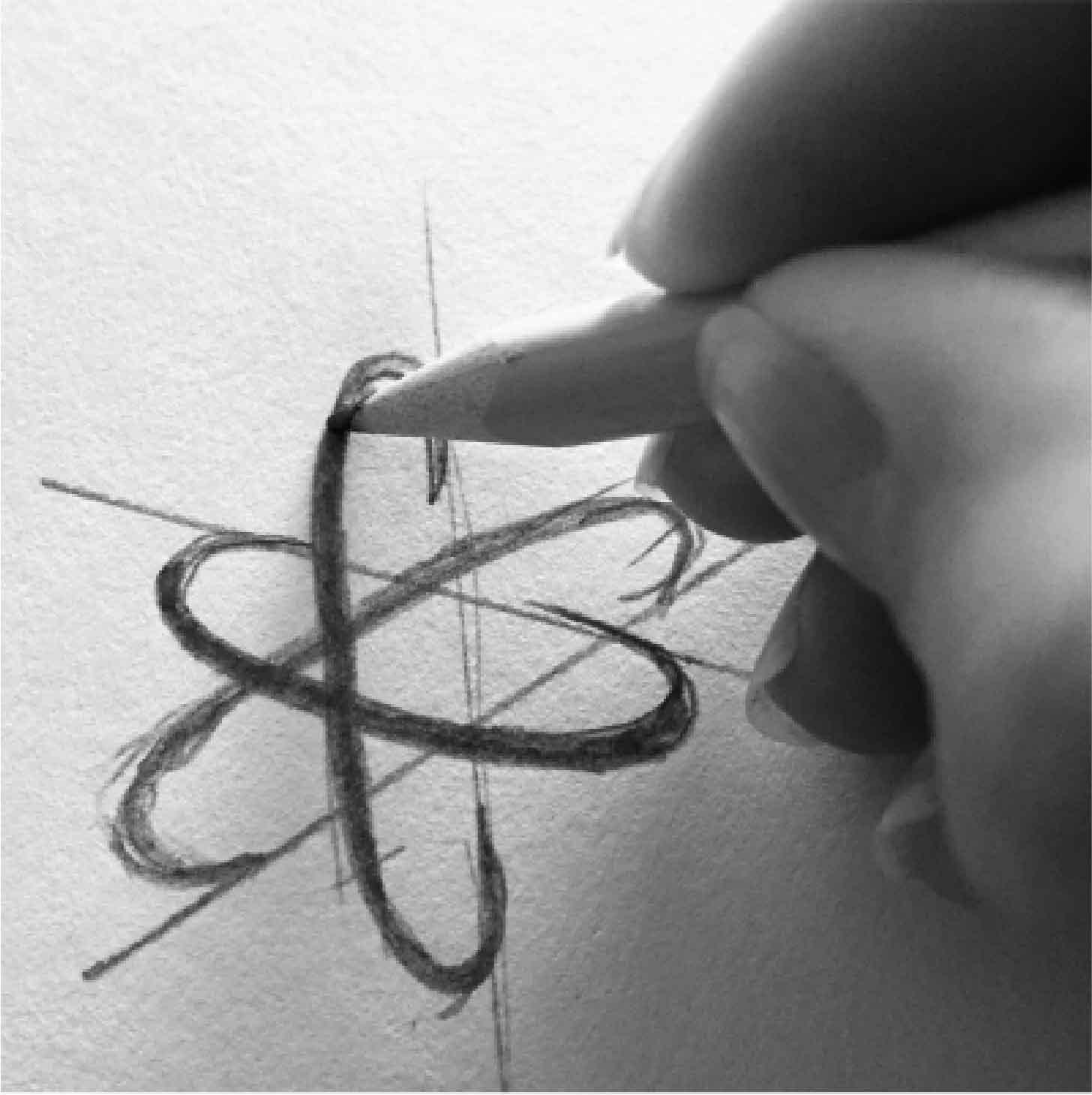 Logo atom inspiration