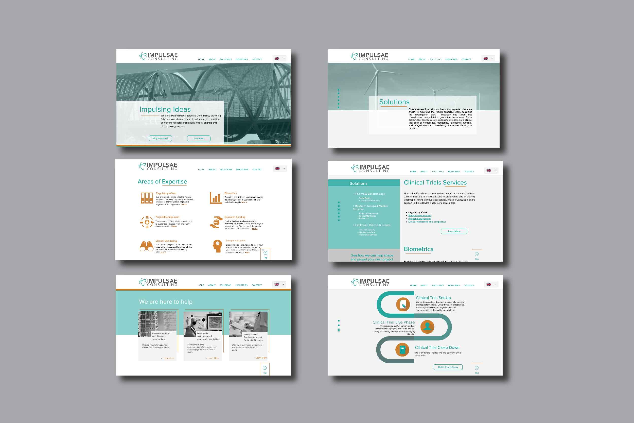Web design for CRO company