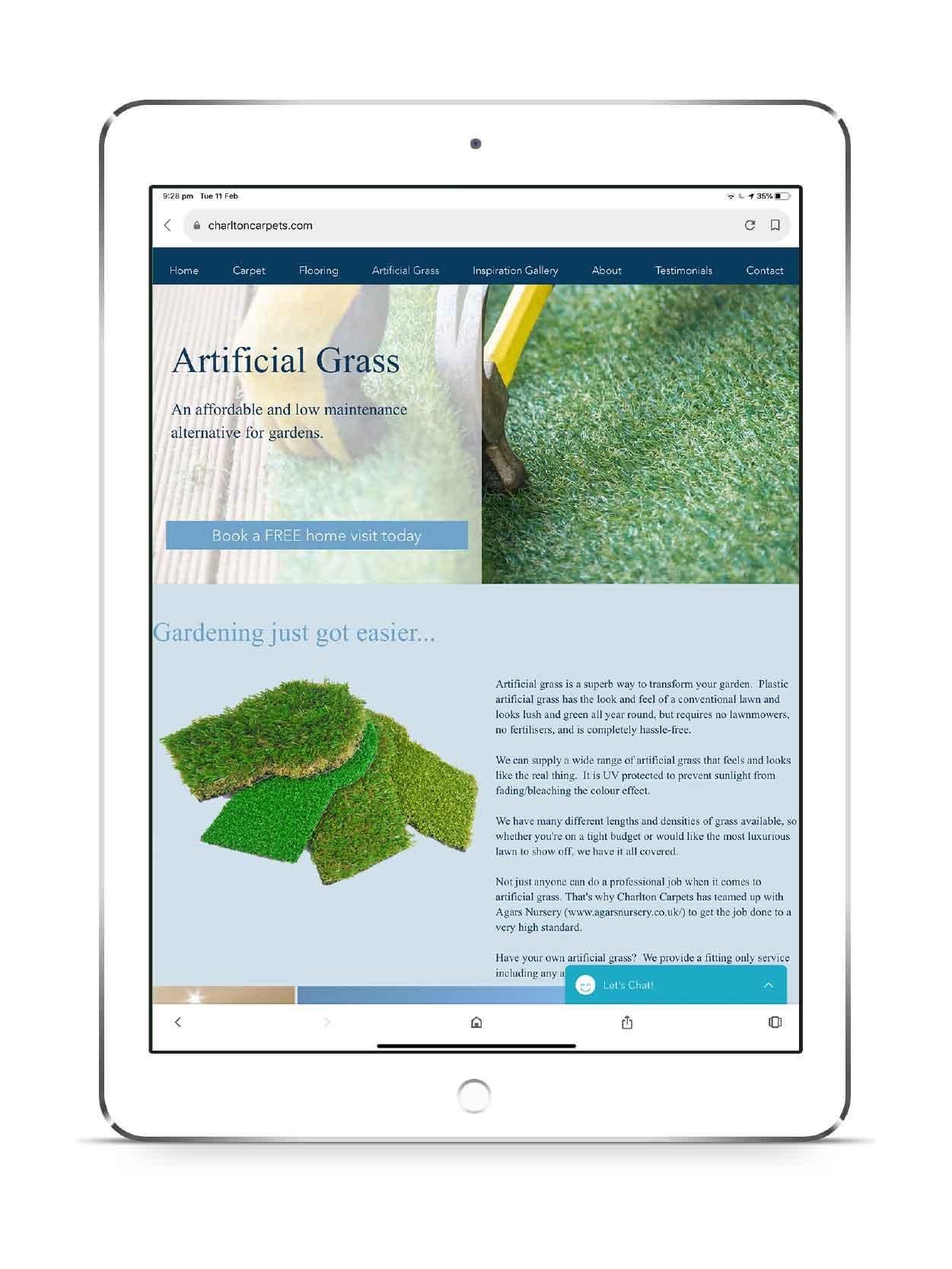 UI Design for iPad