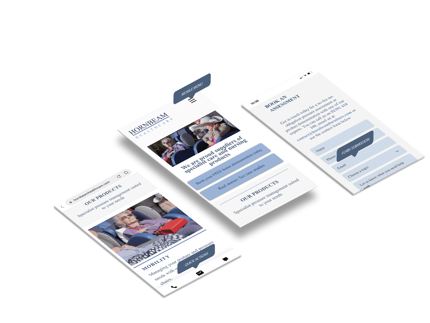 Mobile UX for healthcare