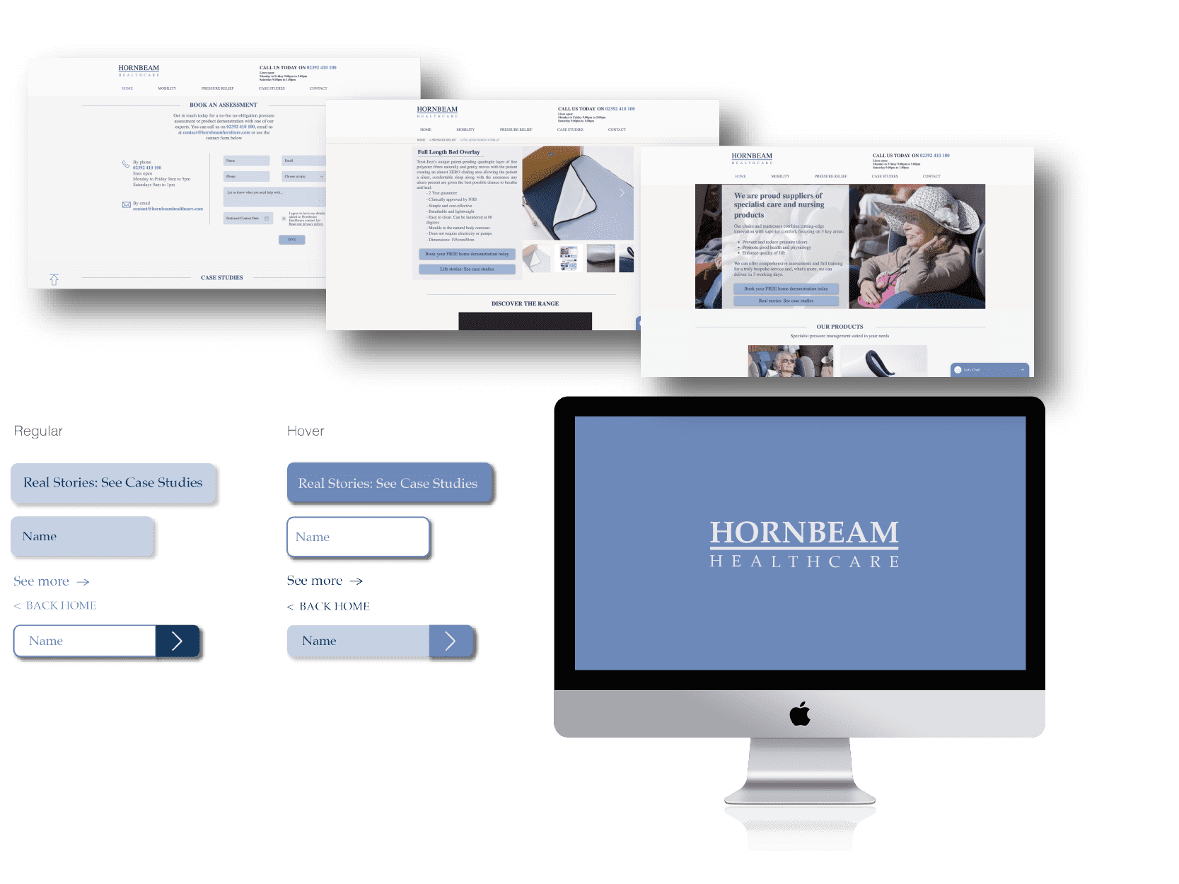 UI kit for healthcare company