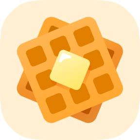 Waffle App Icon