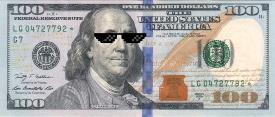 Benjamin social money meme