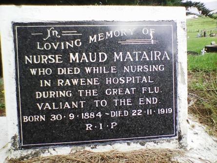 Nurse Maud death