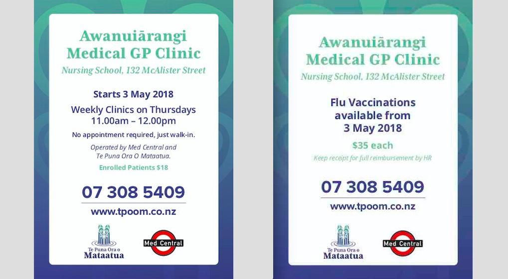 Awanuiarangi GP clinic