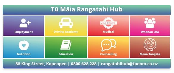 Rangatahi hub services