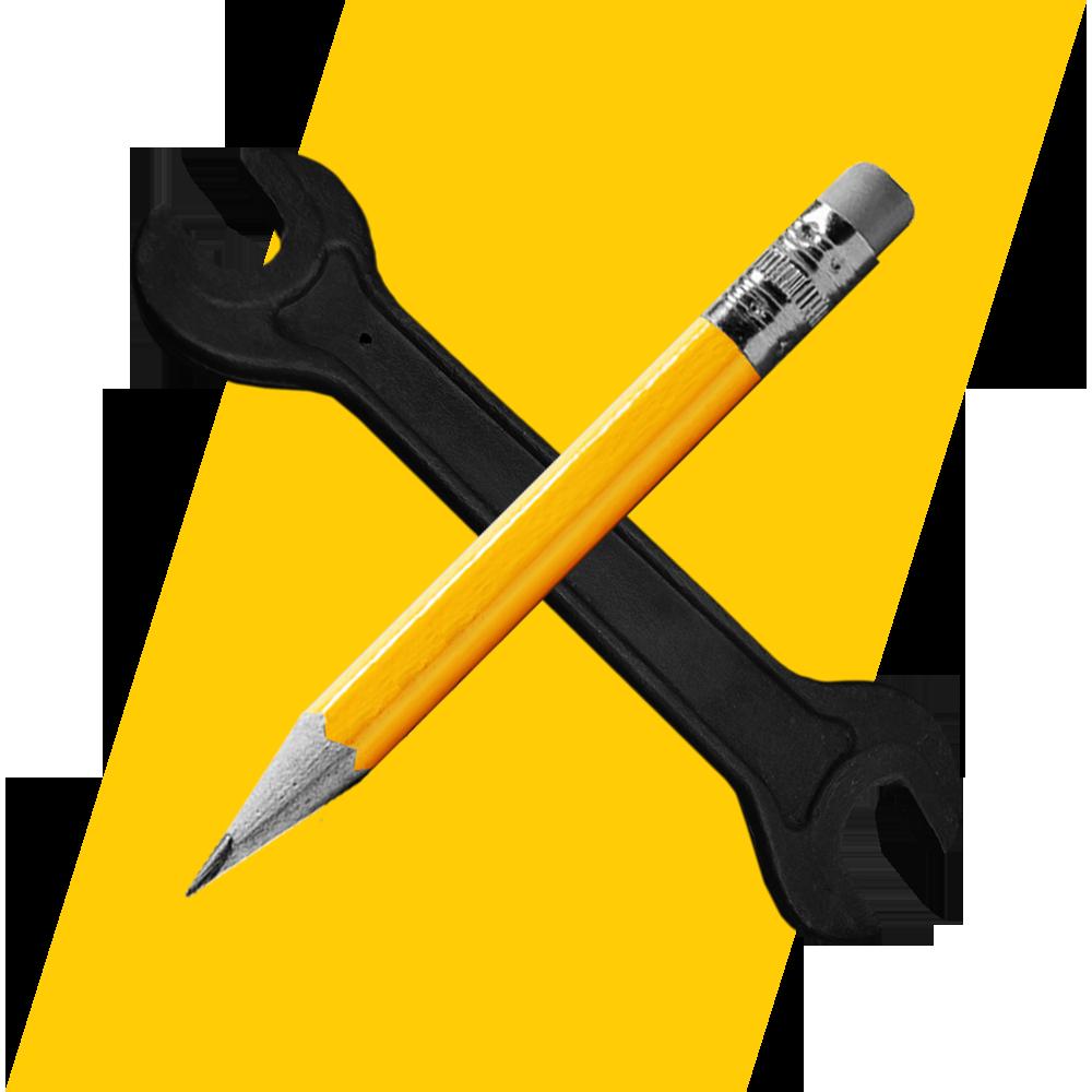 Media Wrench Graphic Design Icon