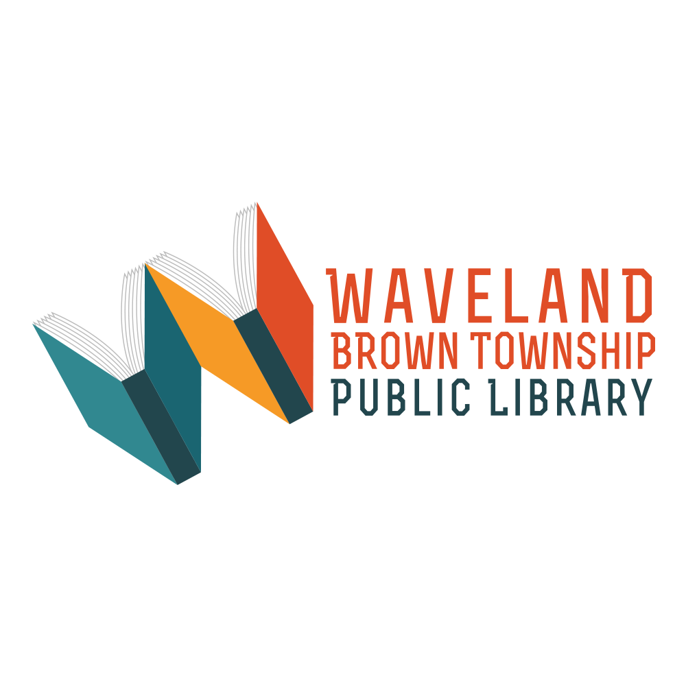Waveland Brown Township Public Library - Waveland, IN Logo Design by Media Wrench