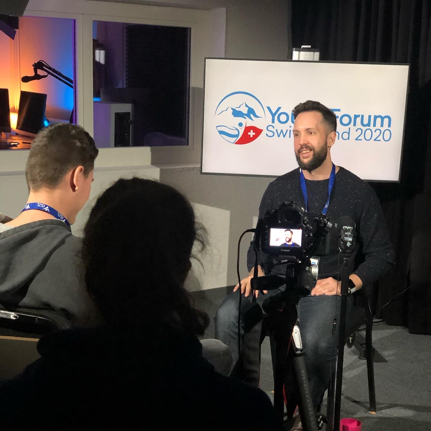 Will being interviewed at the Switzerland Youth Forum