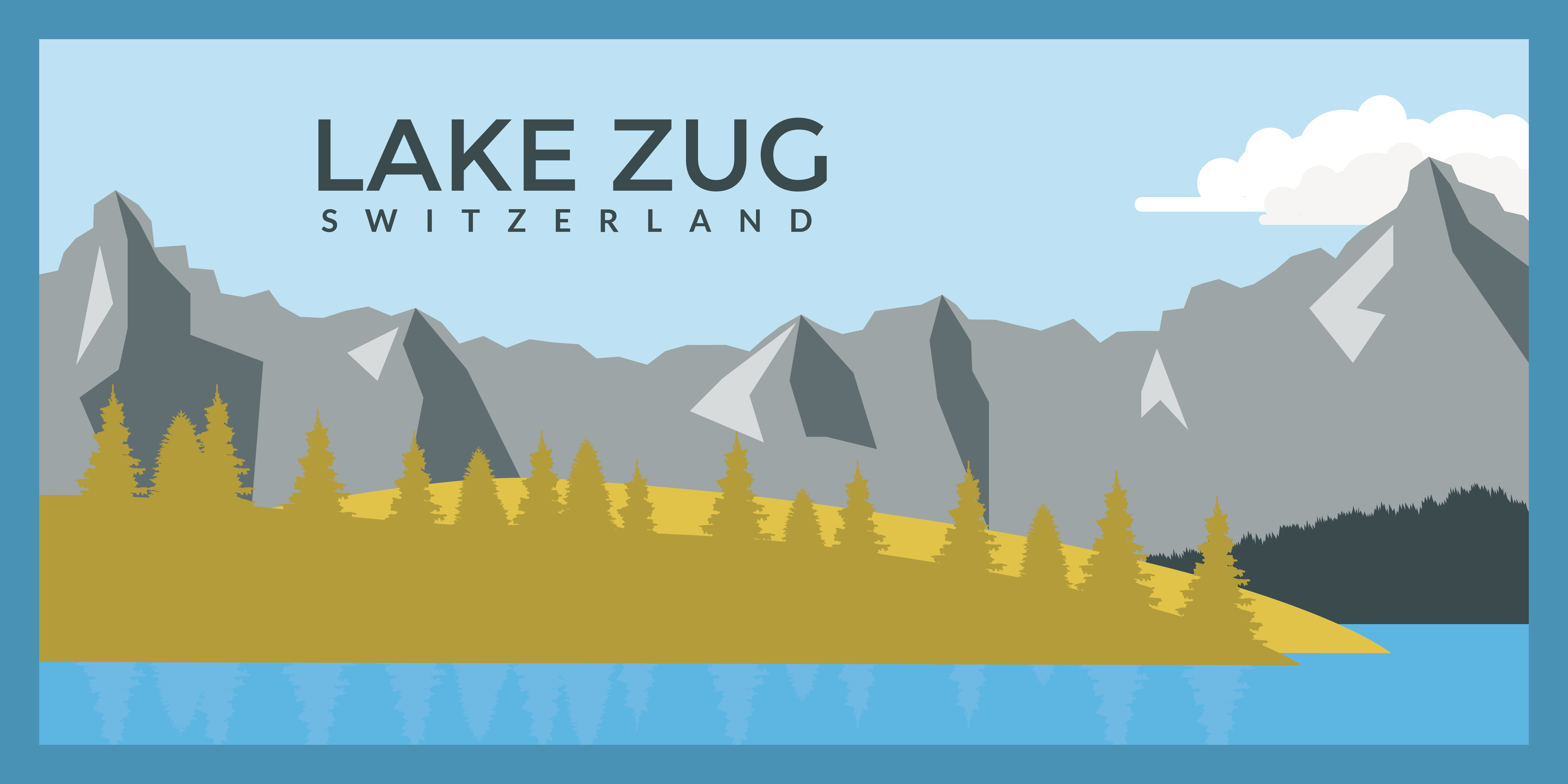 Illustration · Lake Zug