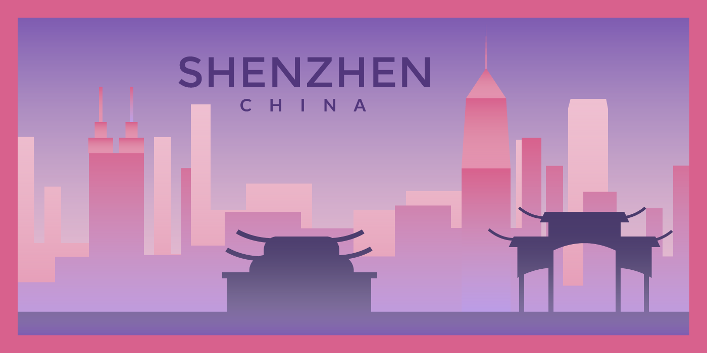 Illustration of Shenzen