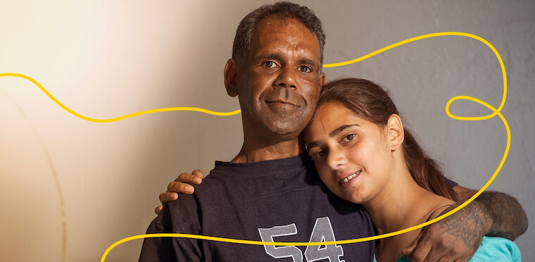 YouBeYou Image · Aboriginal Foster Care Family