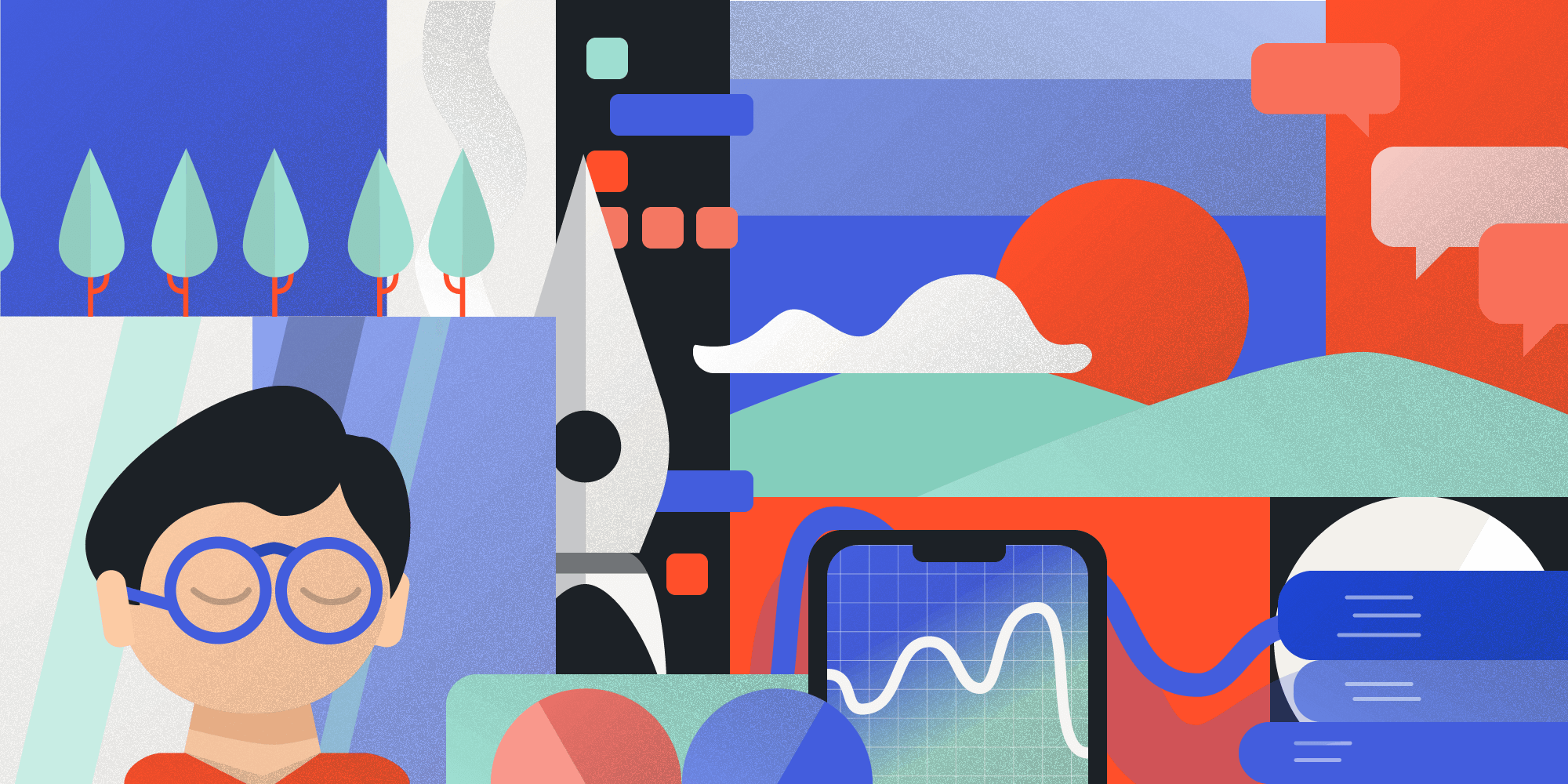 Illustration · Collage