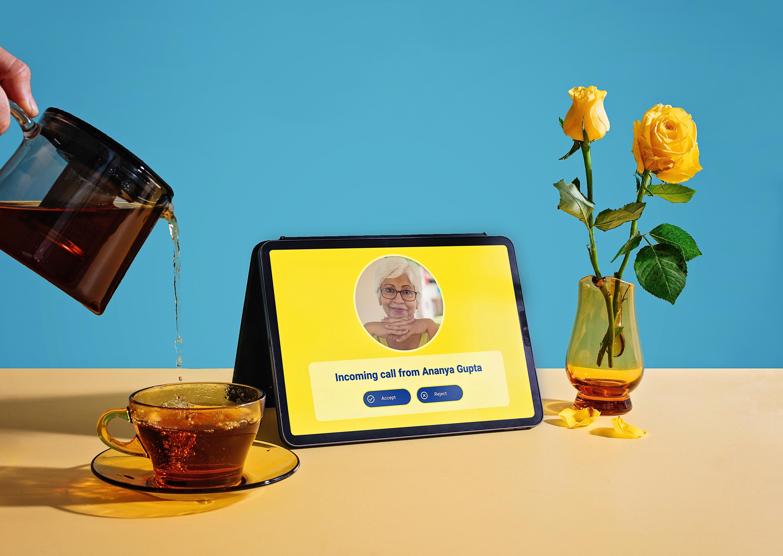 Connecting elders through co-designed tech