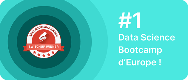 1er data science bootcamp d'Europe !