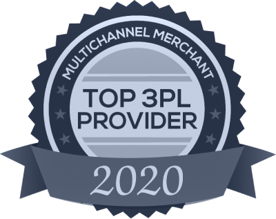Multichannel Merchant 2020 Top Third-Party Logistics Provider Award