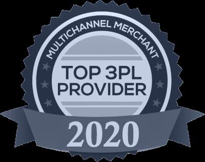 Multichannel Merchant 2020 Top Third-Party Logistics Provider Award