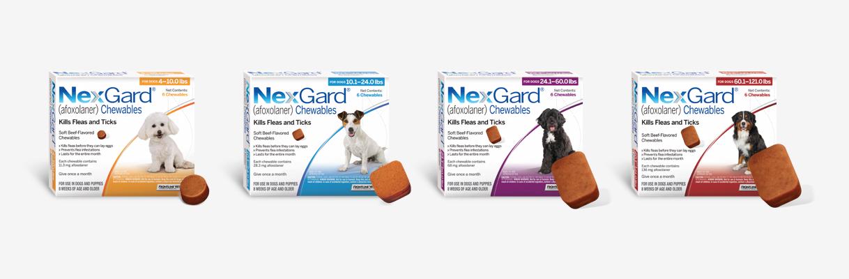 Nexgard products image