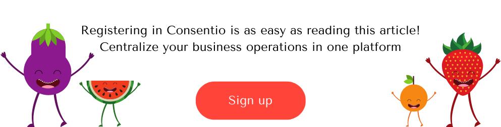 register in Consentio